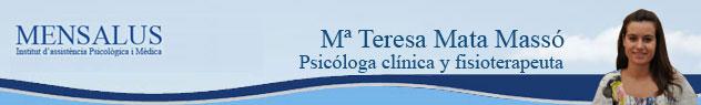 ma teresa maso Superar la fibromialgia. Entrevista a Mª Angels Mestre.
